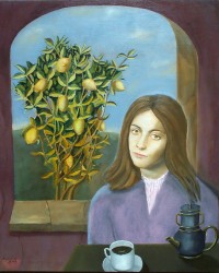 Reginald Gray - Girl and Lemon Tree - 2010.