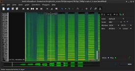 Initial spectrogram in SV