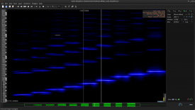 Improved spectrogram view