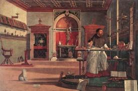 Vittore Carpaccio - Visione di Sant Agostino